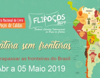 FLIPOÇOS 14th National Book Fair of Poços de Caldas