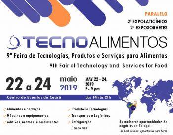 TECNOALIMENTOS  9ª Feira de Tecnologias, Produtos e Serviços para Alimentos
