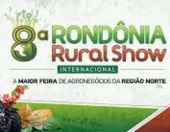 RONDÔNIA RURAL SHOW  8ª Feira Internacional de Tecnologias e Oportunidades de Negócios Agropecuários